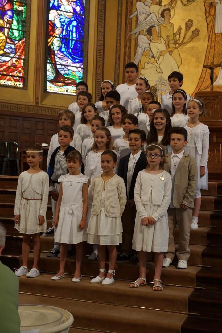 Communion 2015 - Paroisse Louis-Edouard Cestac - Eglise Sainte-Marie