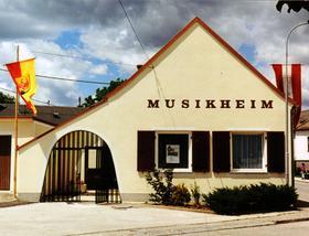Das renovierte Musikhaus 1988