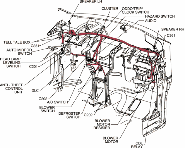 Chevrolet Spark Wiring Diagram
