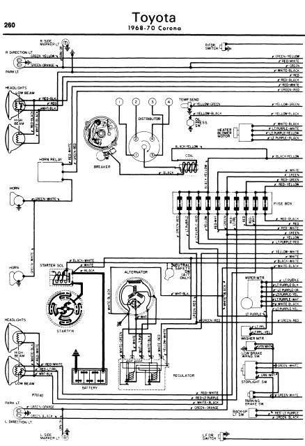 Toyota Corona Service Manuals     Wiring       Diagrams