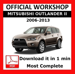 Mitsubishi       Outlander    Service Manual     Wiring       Diagrams