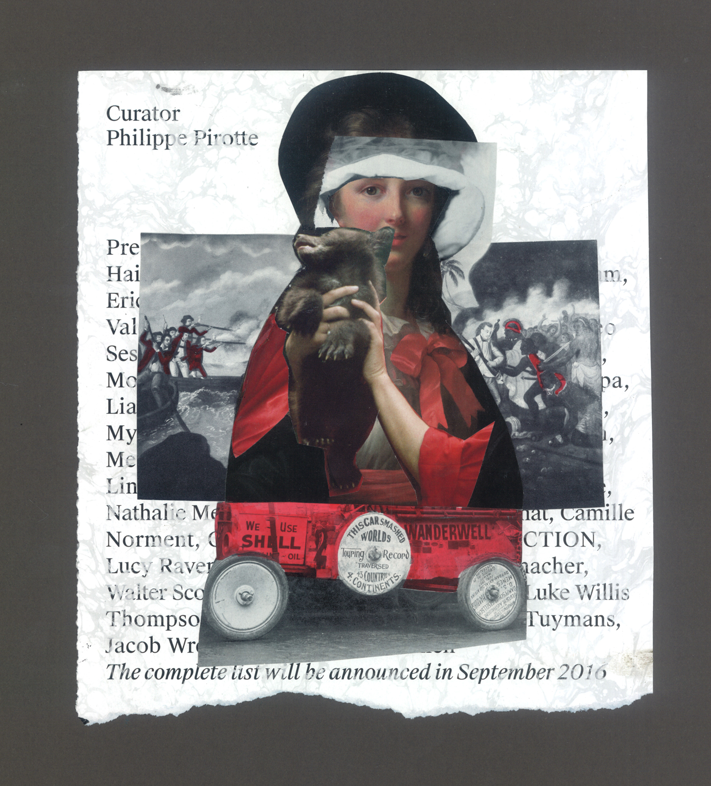 collage by deborah hariis