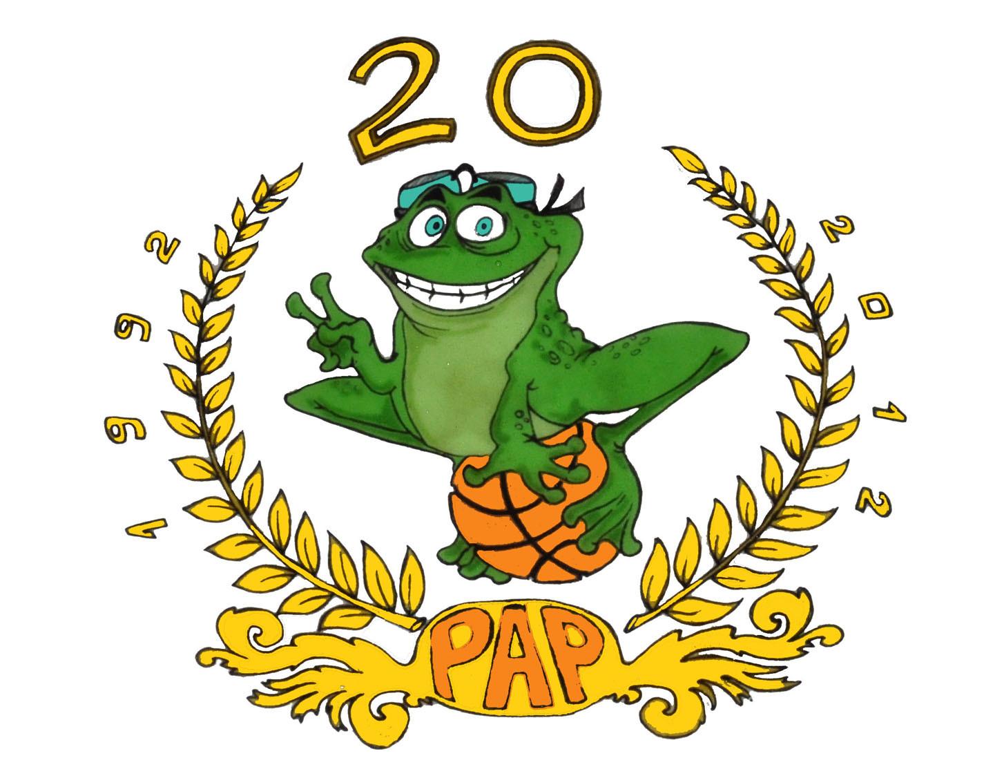 Logo celebrativo Polisportiva 20 anni!!!!