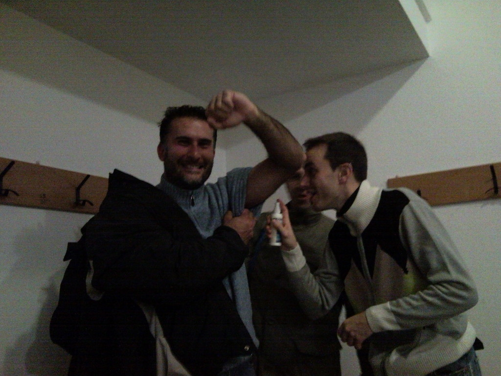 Spruzzatina Ferri - Vittoria contro GSM Monsummano - Novembre 2010