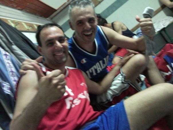 Sandrino e Fede all' ultimo allenamento della stagione!!!!!! Maggio 2009