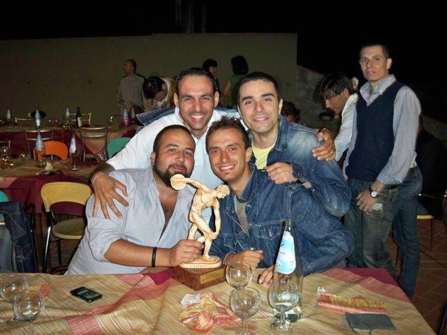 I Papponi Festeggiano il Doctor G MVP PAP 2009 - Luglio 2009