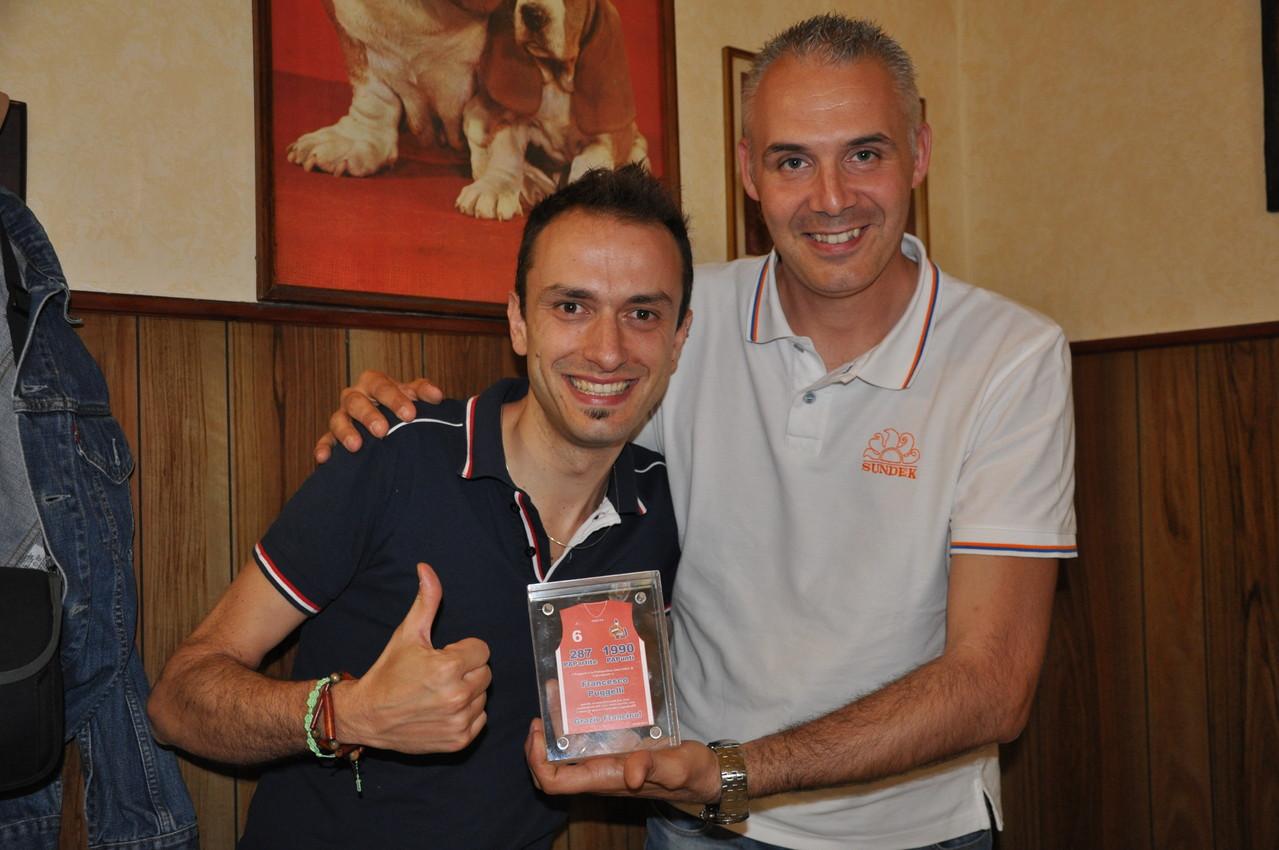 Big Fede premia Francino per la sua carrierra nella PAP!!!! - Giugno 2013