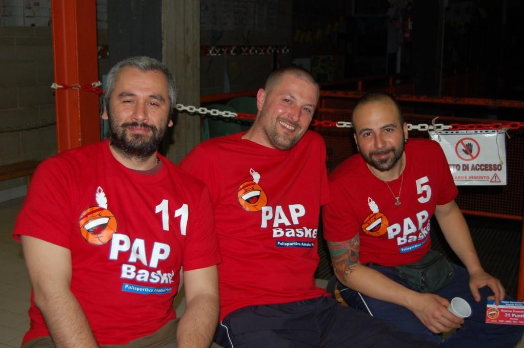 Un bel trio di PAPPONI all' ultimo allenamento della stagione!!!!! - Massi - Ghigo - Doctor G - Maggio 2011
