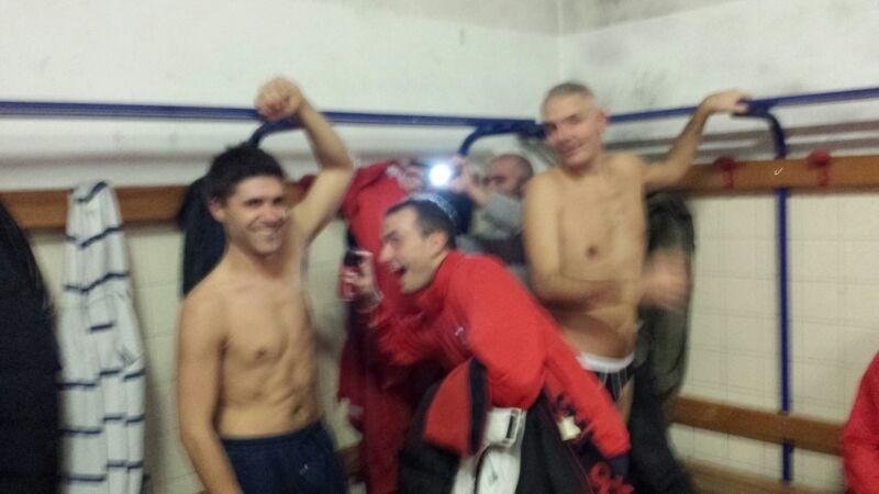 Spruzzatina DDT Fendo in mancanza del Ferri - Vittoria contro Porta al Borgo - Novembre 2013