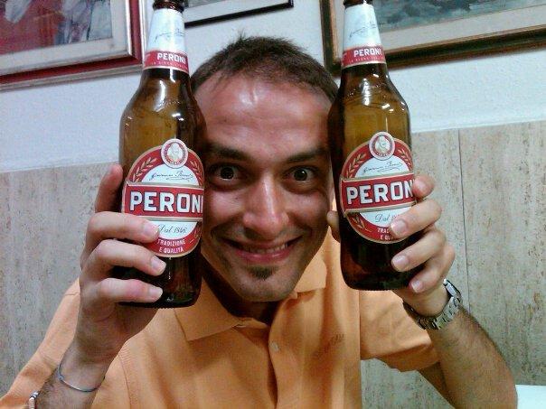 Francino e una birra per capello!!!!! Aprile 2011