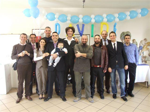 I Papponi festeggiano Davide il bambino del Cap - Marzo 2009
