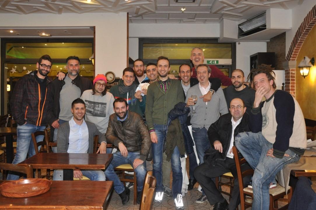Cena Papponi Natale 2014 - Ristorante Pizzeria Civico 312 - 23 Dicembre 2014