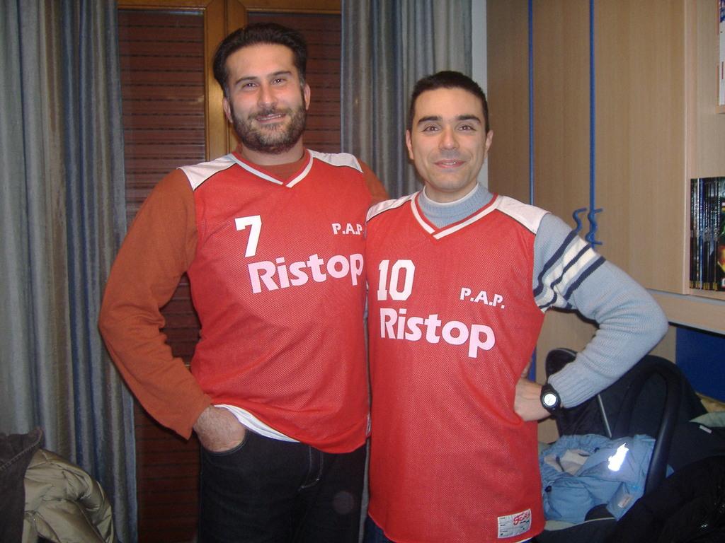 Stefano e Marco due grandi Papponi - Dicembre 2008