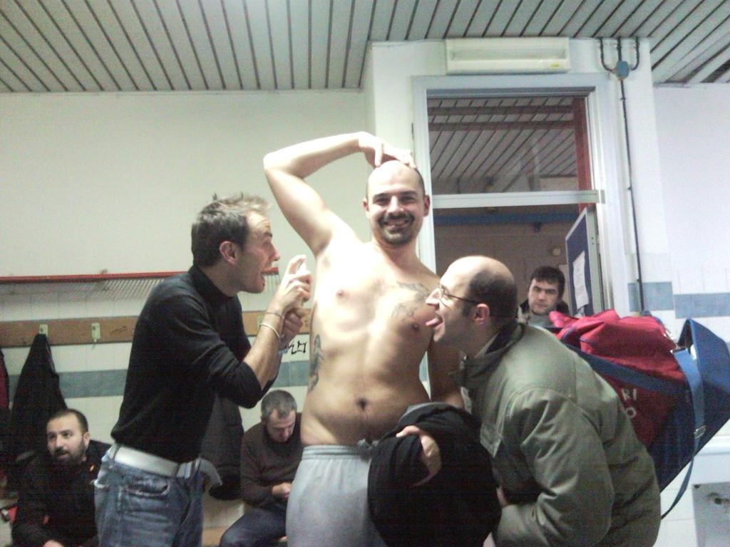 Spruzzatina Ferri - Vittoria contro GSM Montecatini - Novembre 2010