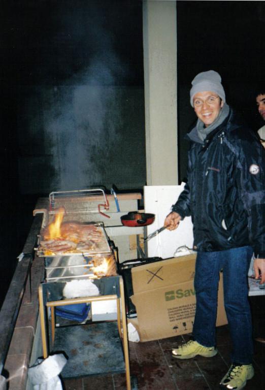 Pietro al fuoco!!!! - Novembre 2004