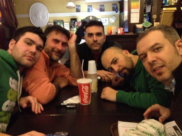 Panino dopo la 100a Vittoria!!!! Fendo-Stefano-Marco-Doctor G-Guido - Marzo 2012