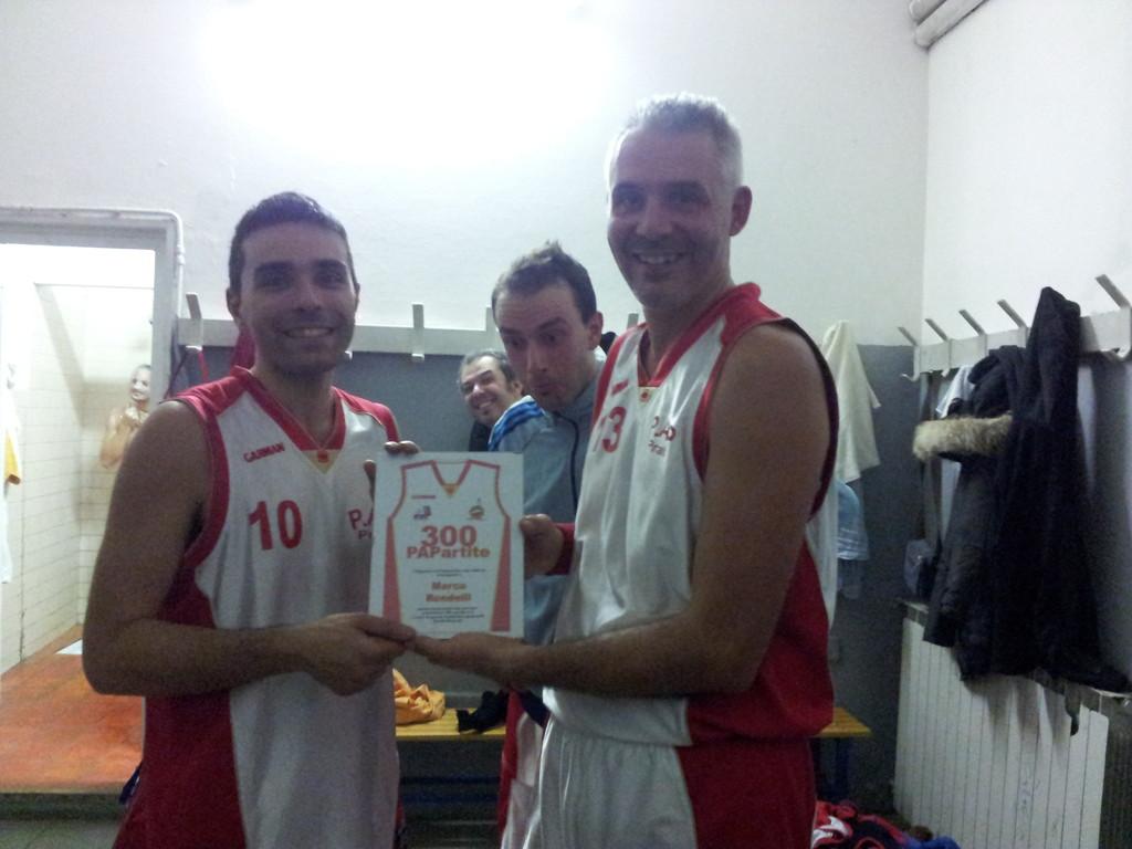 Premio Presenze PAPartite 300 - Marco e Big!!!! - Gennaio 2012