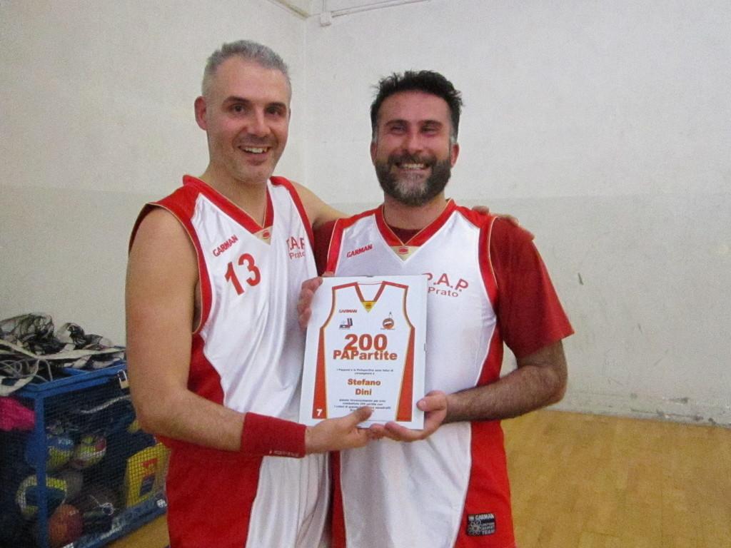 Premio Presenze PAPartite 200 - Stefano e Big!!!! - Gennaio 2012