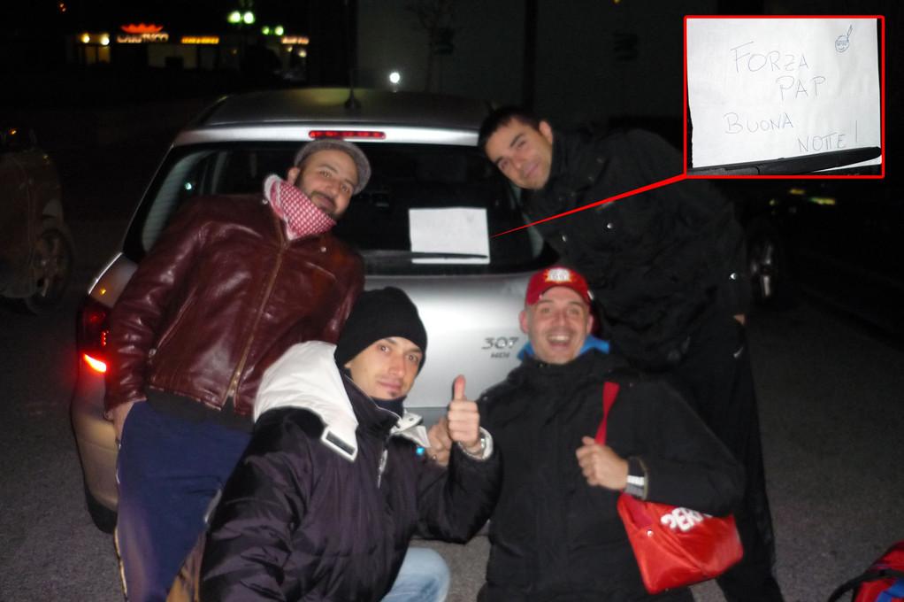 La buonanotte di Sandrino dopo l' ultima di campionato sul campo del Power Basket Ore 01:05!!!!!!! - Marzo 2011