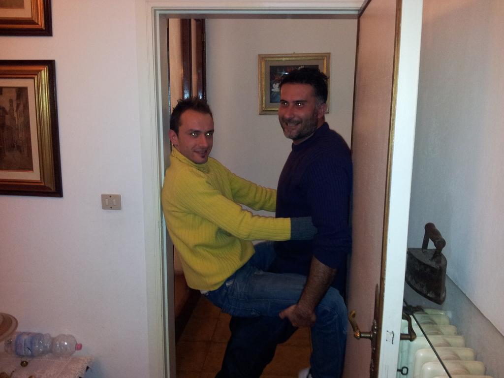 Francino e Stefano prove di posizione - Gennaio 2012