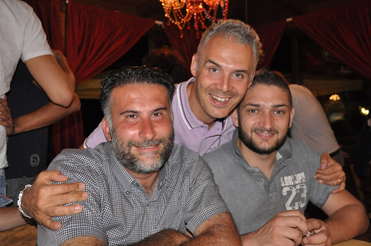 Stefano, Big e Batista alla cena MVP - Luglio 2013
