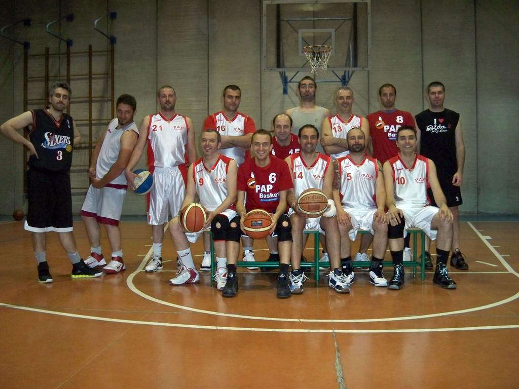 L' ultimo allenamento della PAP stagione 2010-2011 - Maggio 2011