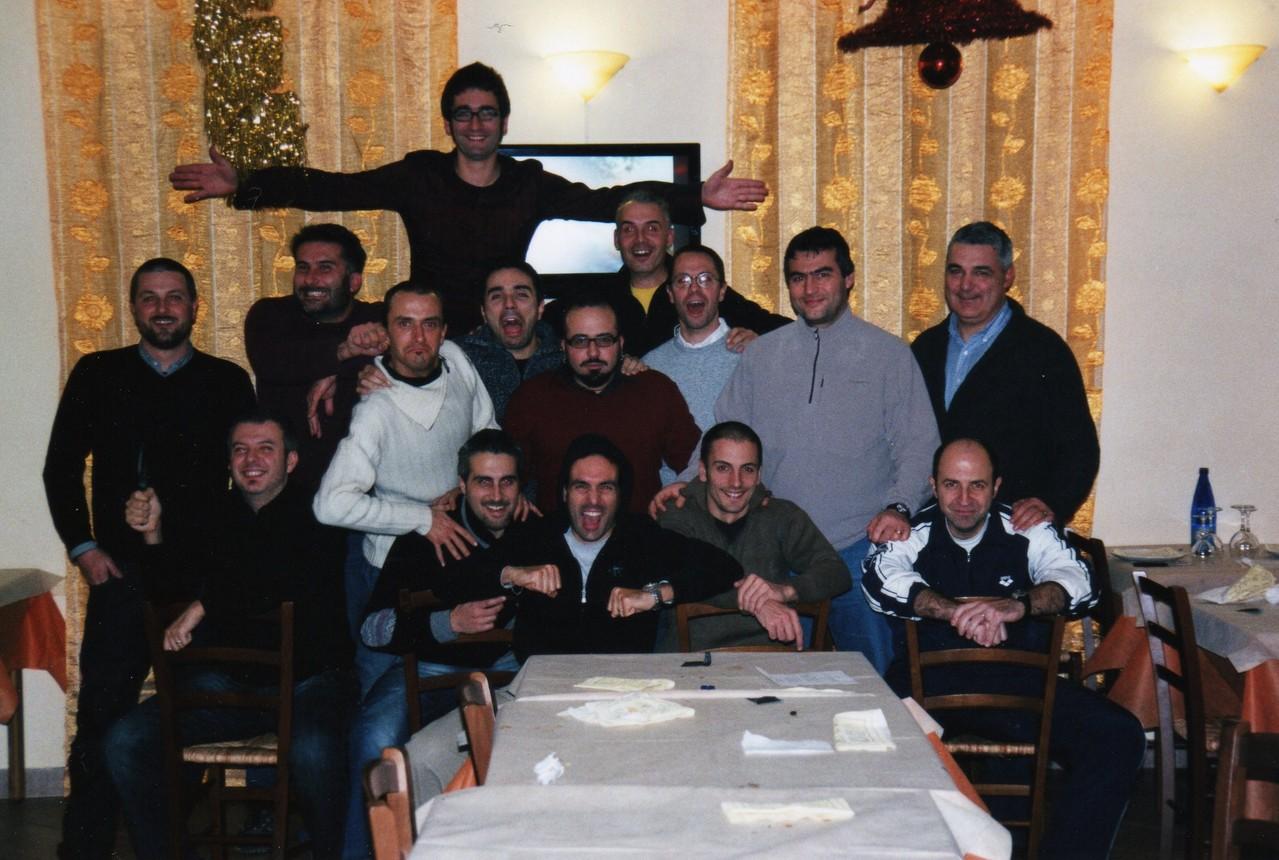 Cena PAP di Natale +45 - Oste di Montemurlo - Dicembre 2009