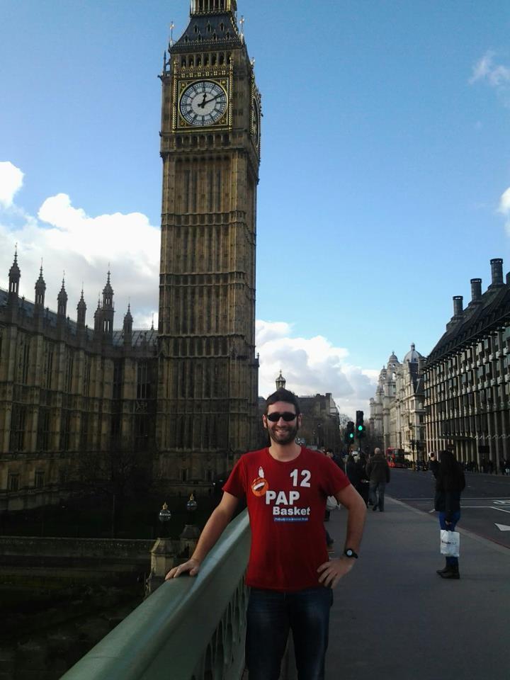 Davide conquista Londra per la PAP - Febbraio 2013