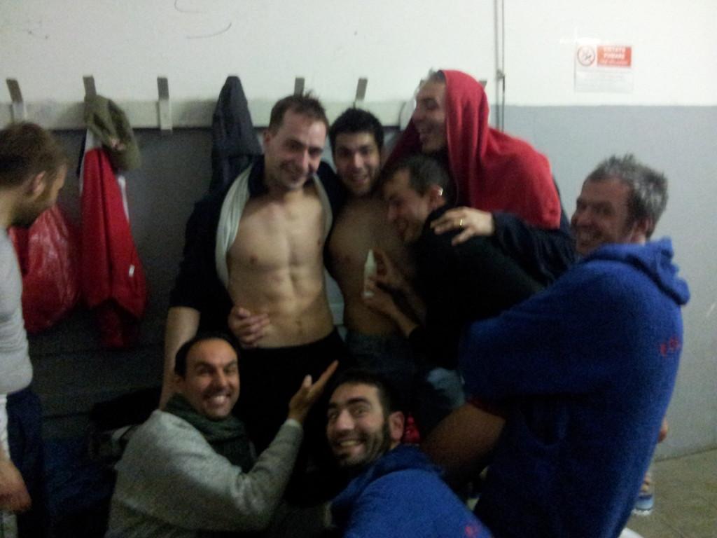 Spruzzatina Ferri - Vittoria contro Dinamo Balcks - Aprile 2012