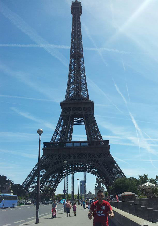 Il cap della PAP conquista Parigi!!!!! - Agosto 2012