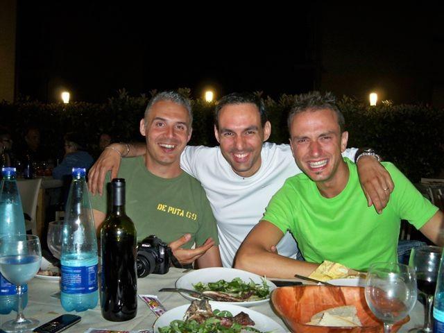 Che trio di PAPPONI !!!!!! - Big Fede - l' Indiano - Francino- Giugno 2009