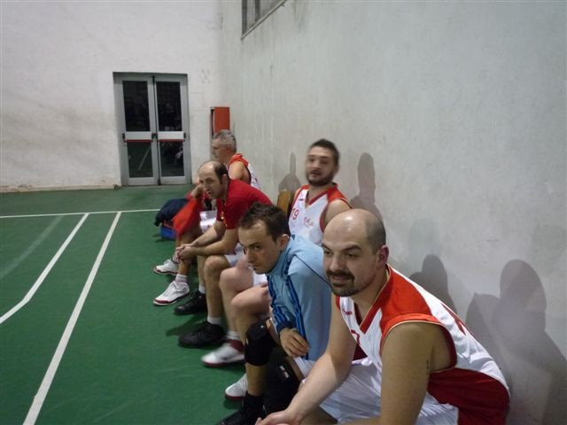La panchina della PAP contro la Globus Pistoia - Marzo 2011