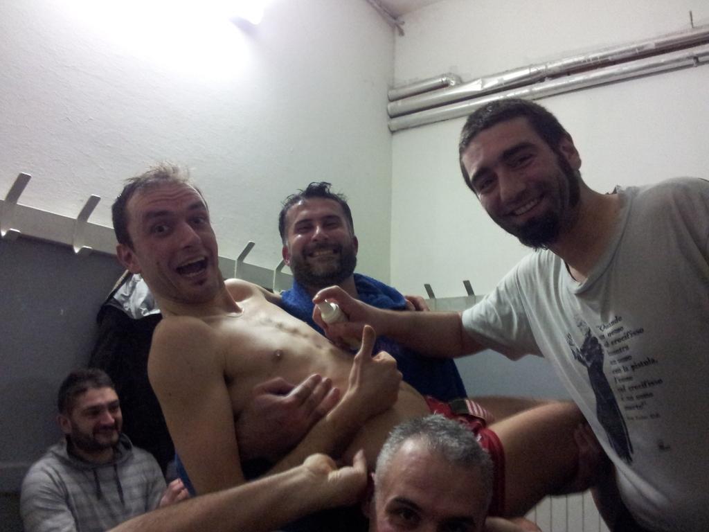 Spruzzatina Ferri - Vittoria contro Chiesina Warriors - Marzo 2012