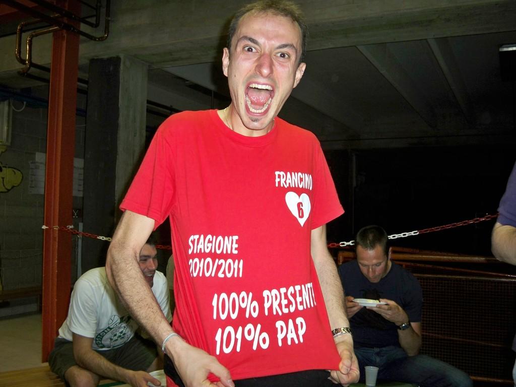 Francino il più presente della stagione 2010-2011 - Maggio 2011