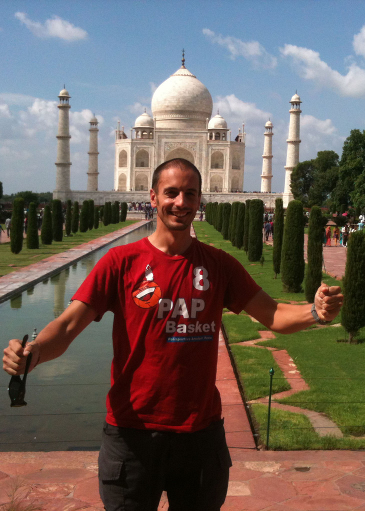 La PAP con il Lippi conquista anche il  Taj Mahal - India - Agosto 2013