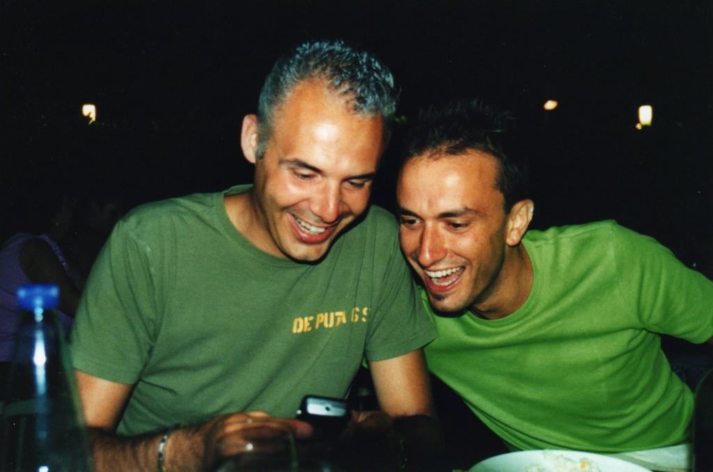 Fede e Francino si gustano il filmato dell' Indiano!!!!!!! - Giugno 2009