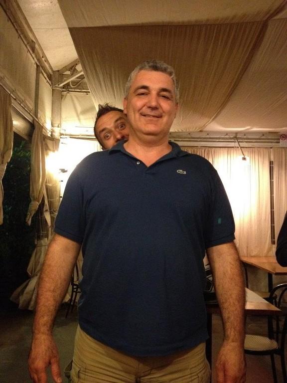 Riccardo e dietro Francino - Giugno 2012