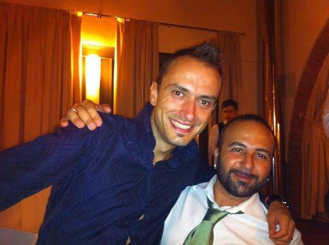Che coppia di Papponi......Francino e il Doctor G con quella bella cravatta verde pisello!!!!!! - Settembre 2012