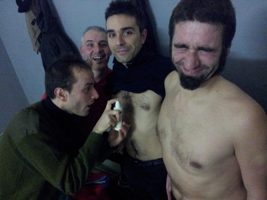 Spruzzatina Ferri - Vittoria contro Porta al Borgo - Gennaio 2012