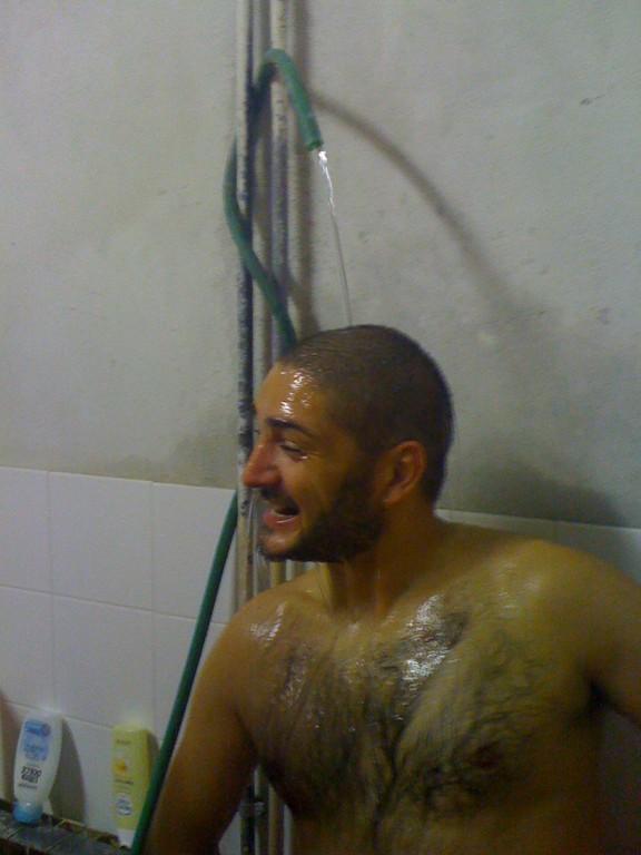 Luca e la canna calda o quasi .......di via Roma!!!! - Ottobre 2011