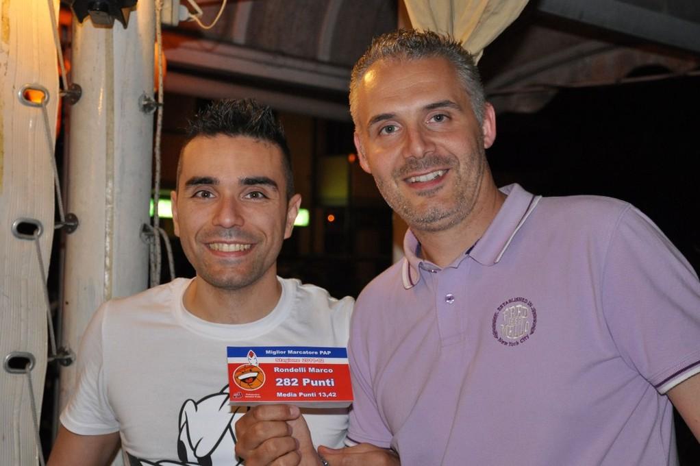 Marco Rondelli il miglior realizzatore PAP della stagione 2011-12