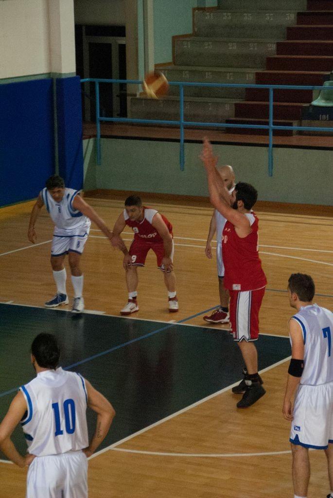 Davide al tiro libero contro Dinamo Blacks - Maggio 2012