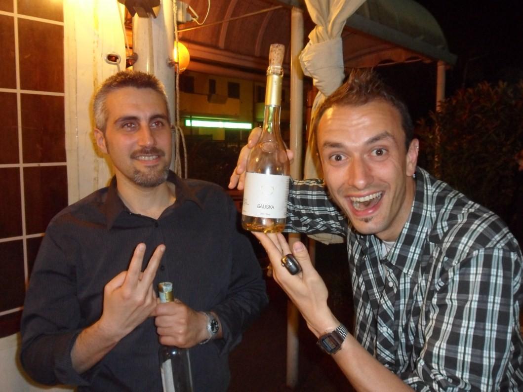 Andrea e Francino e la 6 putanones!!!! - Giugno 2012