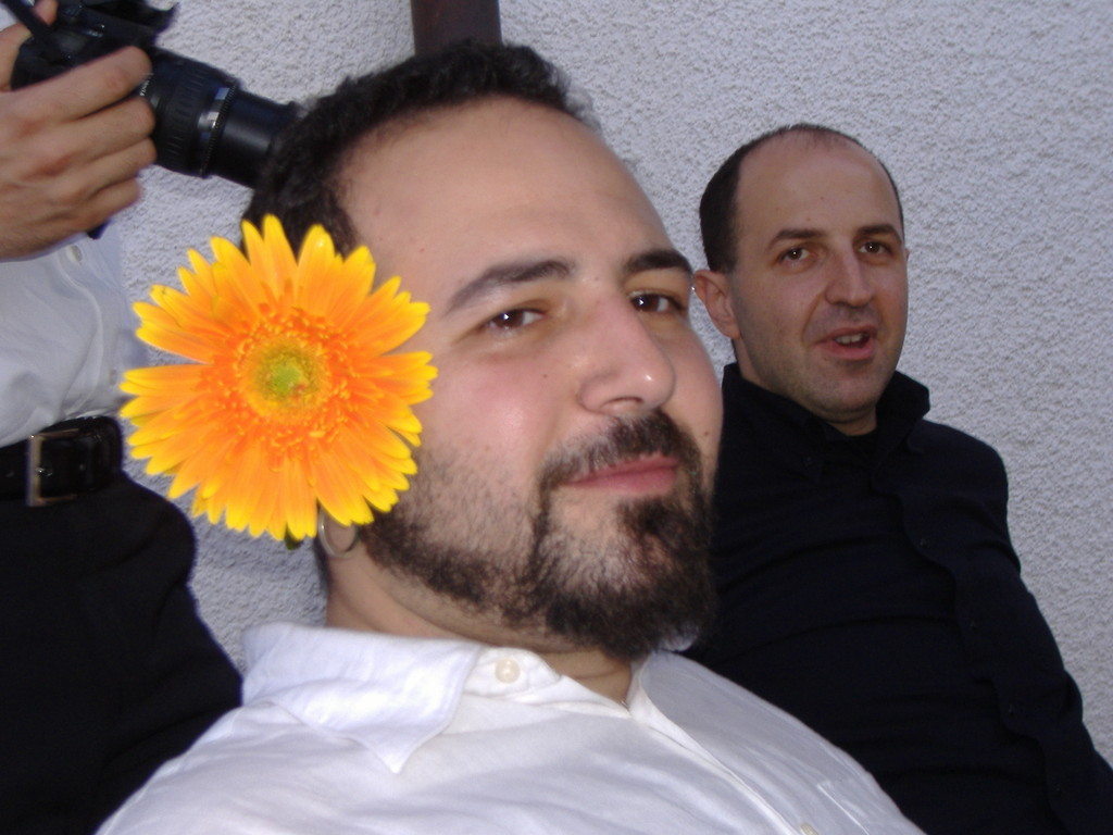 Il Doctor G.......bello come un fiore!!!!!!! - Luglio 2006