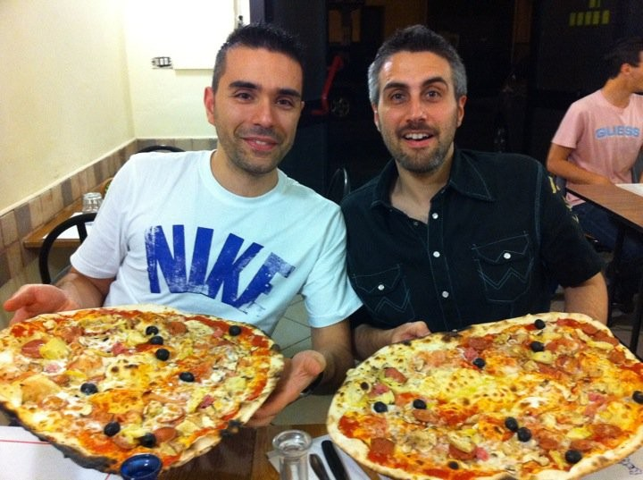 Due pizze Doc per due Papponi Doc!!!!!! - Maggio 2011