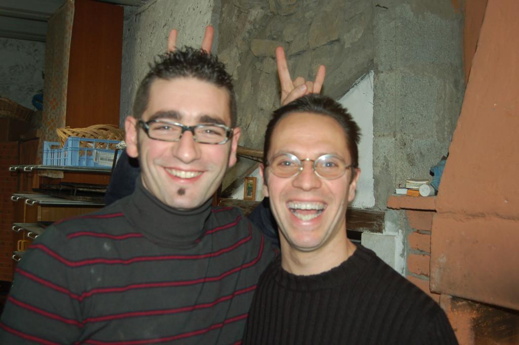 Dafide e Taglia Pietro - Gennaio 2008
