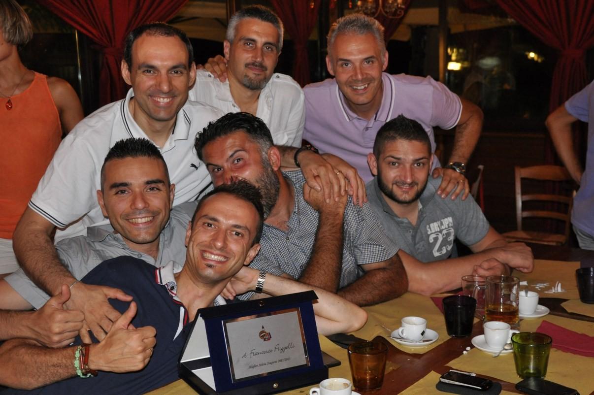I Papponi festeggiano Francino MVP 2013 - Luglio 2013