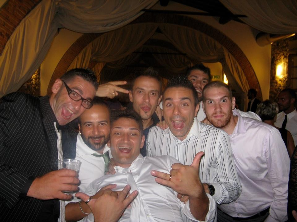 I PAPPONI festeggiano il matrimonio di Batista - Settembre 2012