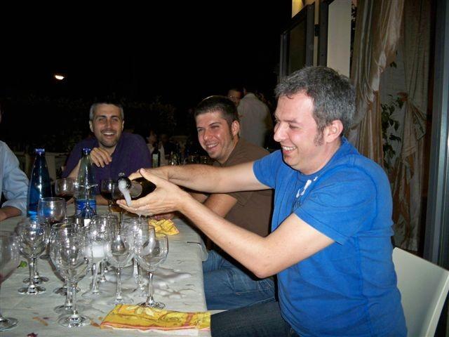 Il Brindisi di Guido per il Matrimonio - Giugno 2009