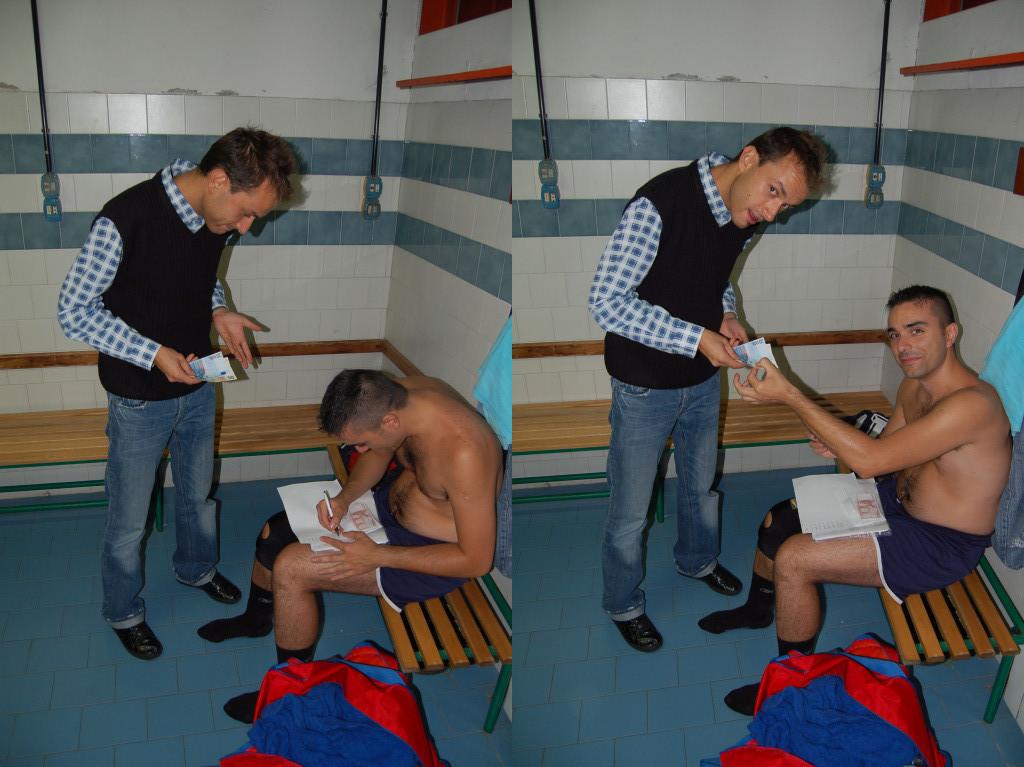 Momento da immortalare Francino paga la quota PAP a Ottobre.......mai successo!!!!! - Ottobre 2010